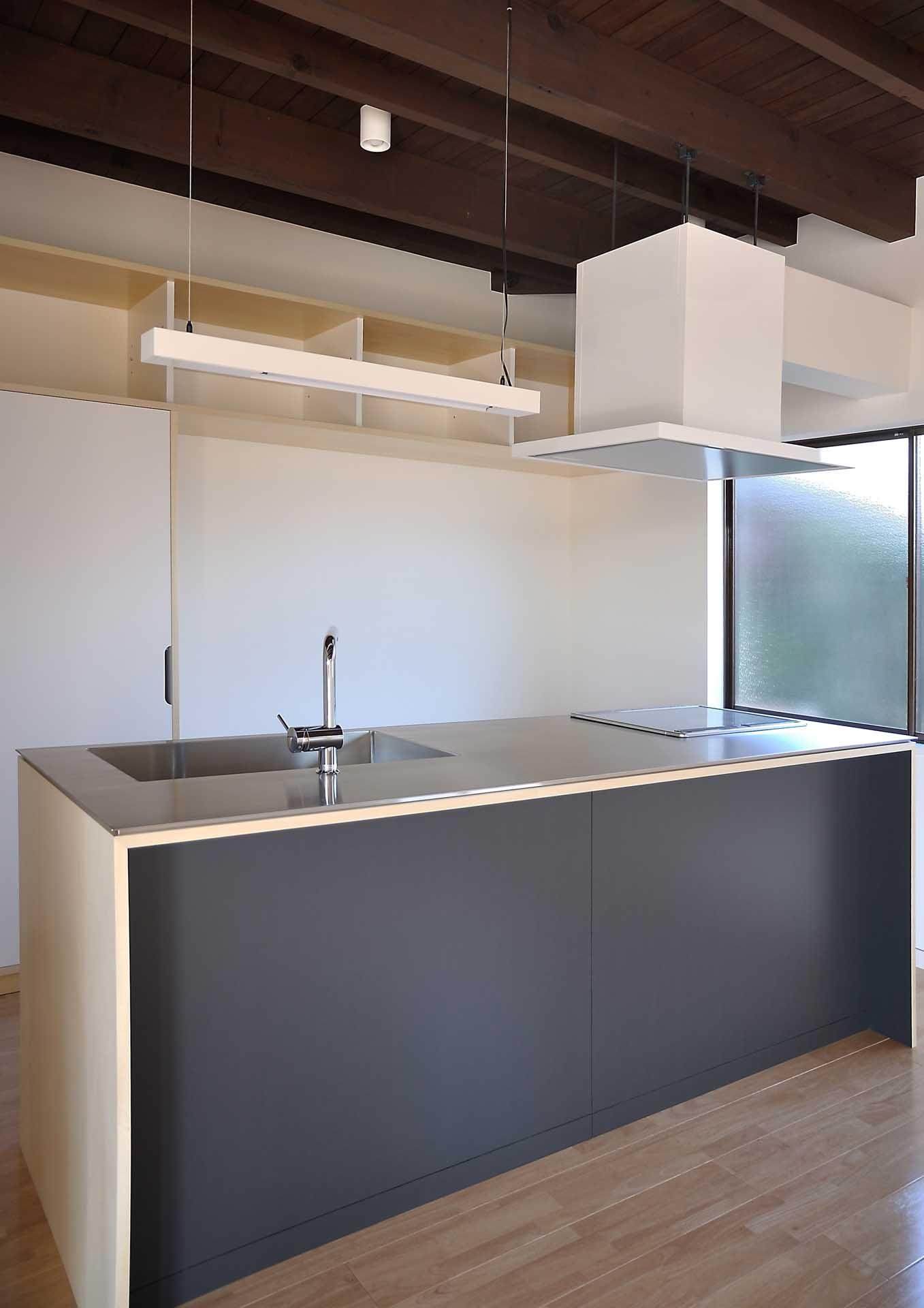 キッチン(倉敷の家)